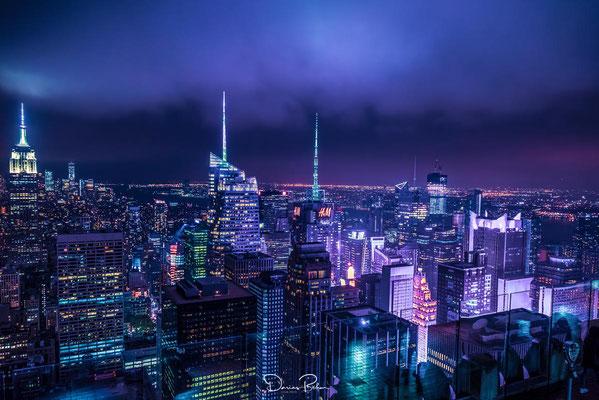 NYC - nachts über den Dächern