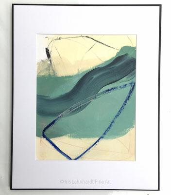 untitled, 27,9 x 35,6 cm, Mischtechnik auf Papier,  Iris Lehnhardt 2021