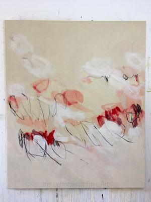 untitled 23072019 | Iris Lehnhardt. 100x120 cm Mischtechnik auf Leinwand