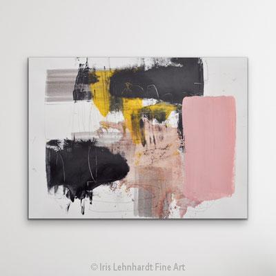 Abstract Study 020920-2 Mischtechnik auf Papier Iris Lehnhardt 2020
