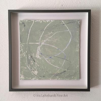 FRAGILE 23,5x23,5 cm 30x30 Objektrahmen Iris Lehnhardt 2021