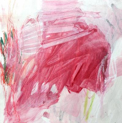 613. 40x40 cm, Acryl auf canvas panel | Iris Lehnhardt 04/2019
