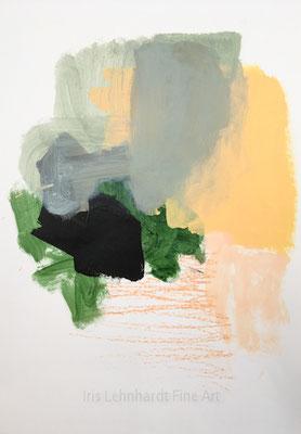 untitled 05022019 | Iris Lehnhardt. 29,7x42 cm Mischtechnik auf Papier.