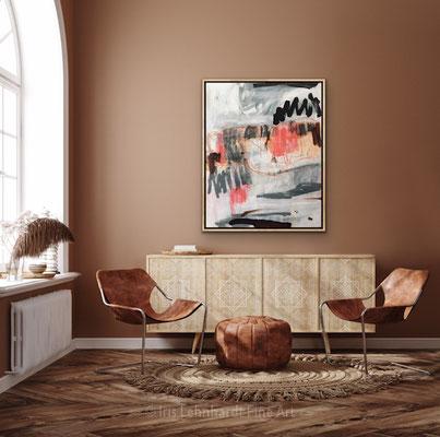 Wild Matter, 100x120 cm, Mischtechnik auf Leinwand, Iris Lehnhardt 2021