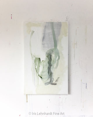 Subtle | Mischtechnik auf Leinwand | 38x61 cm | Iris Lehnhardt 2020
