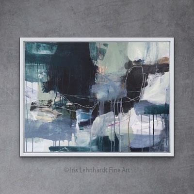 060321, Mischtechnik auf Canvasboard, 60x80 cm, Iris Lehnhardt 2021