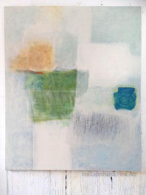 untitled 614 | Iris Lehnhardt 2019. 100x120 cm Mischtechnik auf Leinwand.
