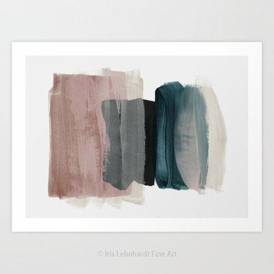 minimalism 1, Iris Lehnhardt 2017, Kunstdruck erhältlich bei JUNIQE und SOCIETY6