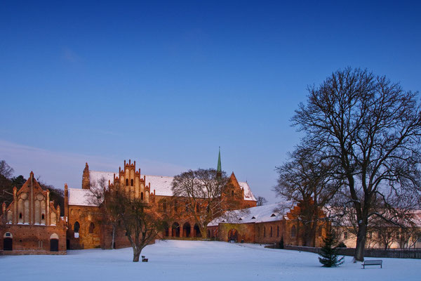 Kloster Chorin im Winter