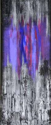 Skyline, 40 x 80 cm.  Painting by Dieter Verspeelt