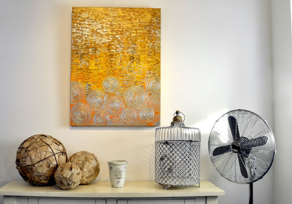 Abundance, 60 x 80 cm.  Painting by Dieter Verspeelt