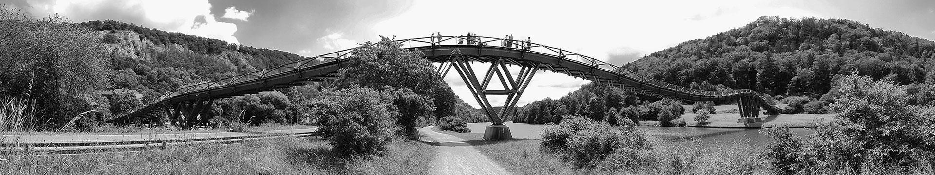 Holzbrücke Essing (Main-Donau-Kanal)