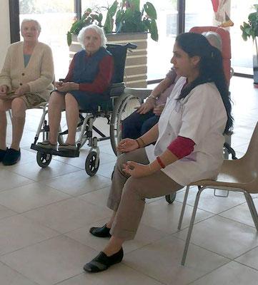 Yoga pour les seniors - Yoga de Priti - Tours - 37000