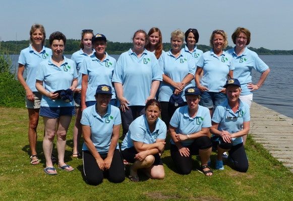 Bordesholmer Landfrauen; Drachenboottraining