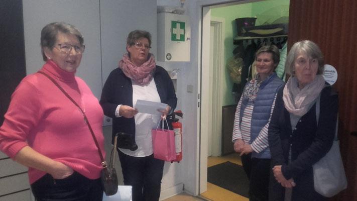 Bordesholmer LandFrauen, Spendenübergabe an die Lebenshilfe in Bordesholm im Nov. 2018