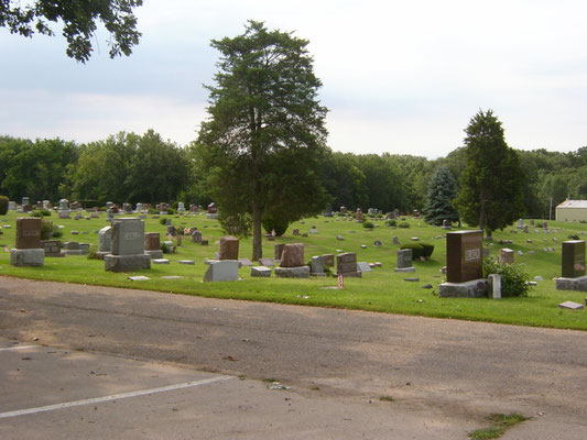 view from cemetery road