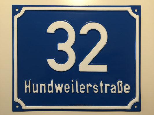 Hundweilerstraße 32 (ehemals Bleichweg 13 - Raiffeisen Darlehenskasse/Agrarmarkt)