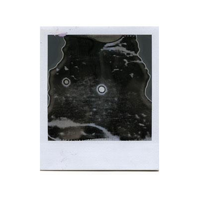 Michael Koch: star crash, 2014, Polaroid
