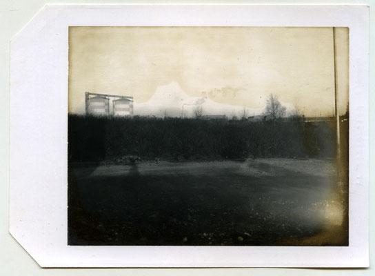 Michael Koch: Brach, 2000, Polaroid
