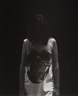 Michael Koch: crâne #2, 2015, C-Print, Diasec
