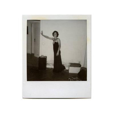 Michael Koch: Angel, 2001, Polaroid