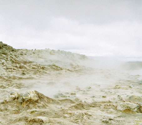 Michael Koch: Námaskarð,2002, C-Print, kaschiert auf Resopal, from: Gala