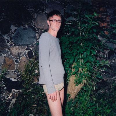 Michael Koch: Ben, 2003, C-Print, from: dressur