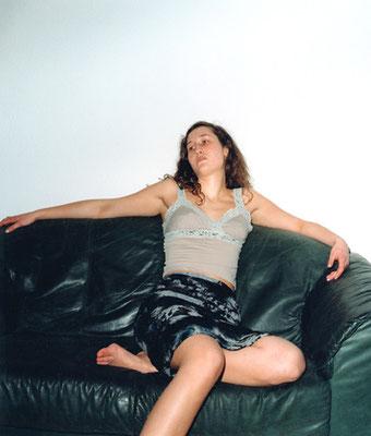Michael Koch: Katja, 2001, C-Print, from: arvo