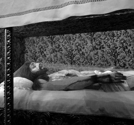 Michael Koch: sleeping jesus, 2016, Inkjetprint