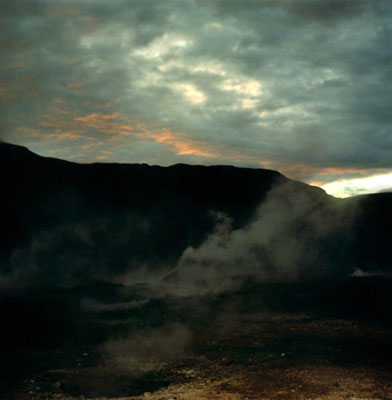 Michael Koch: Haukadalur, 2002, C-Print, from: Gala