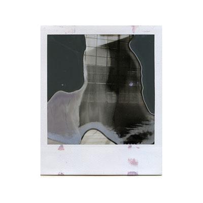 Michael Koch: studio window, 2014, Polaroid