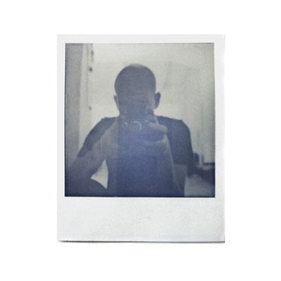 Michael Koch: self (studio), 2014, Polaroid
