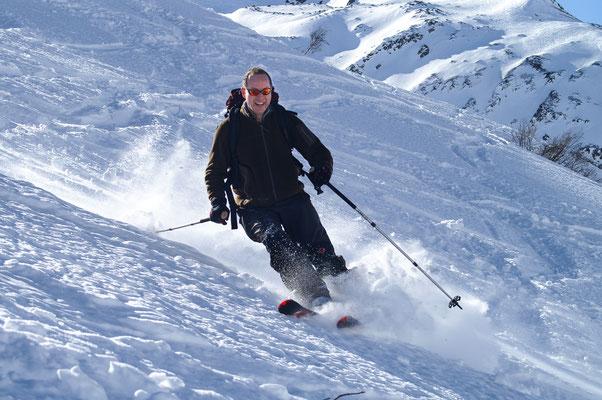 Sport ist mein optimaler Ausgleich zum Geschäftsalltag. Zu Berg...