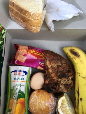 Unser Lunchpaket zum Mittagessen