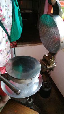 Gerät zur Herstellung von Hostien