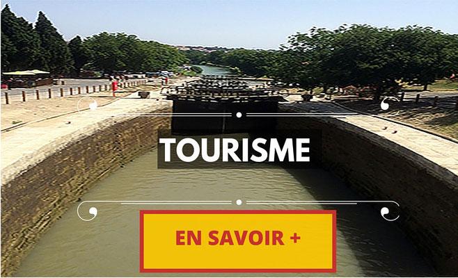 le pont du gard, carcassonne, canal du midi, méditerranée, cathédrale saint-nazaire, écluses de fronsérane, saint-guilhem-le désert