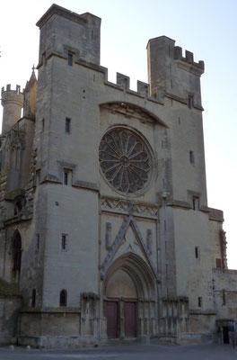 la cathedrale saint nazaire de beziers, cathedrale saint just et saint pasteur de narbonne, canal de narbonne, georges brassens narbonne