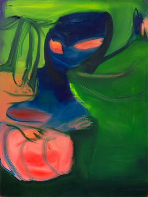 Guru, 2019,  oil and acrylic on canvas, 160 x 120 cm / 63 x 47.24  inches