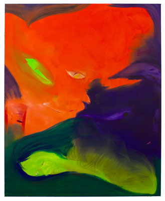 Trickster, 2021, oil on canvas, 160 x 130 cm / 62.99 x 51.18 inches