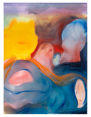 No Hard Feelings, 2021, oil on canvas, 200 x 150 cm / 78.74 x 59.06 inches