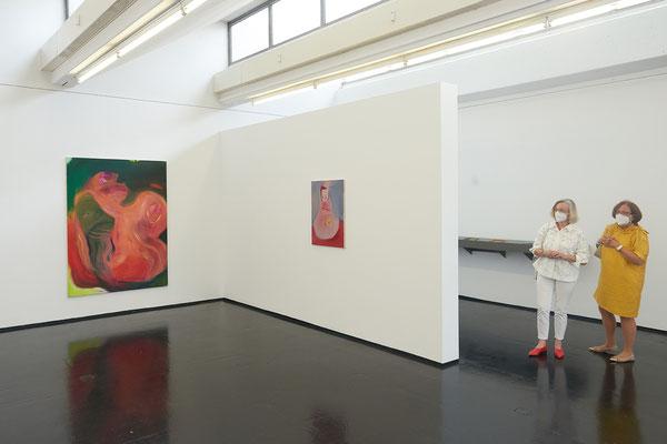 Deep Blue Purple, Institut für moderne Kunst, Nuremberg, 2021, Photo: J. Kersting