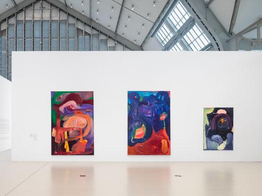 Installation views: NOW! Painting in Germany Today 14 February - 9 August 2020,  Deichtorhallen Hamburg/Hall for contemporary art Courtesy Deichtorhallen Hamburg Photographer/copyright image: Henning Rogge