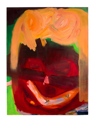 Datenight, 2019, oil and acrylic on canvas, 200 x 150 cm / 78.74 x 59.06 inches
