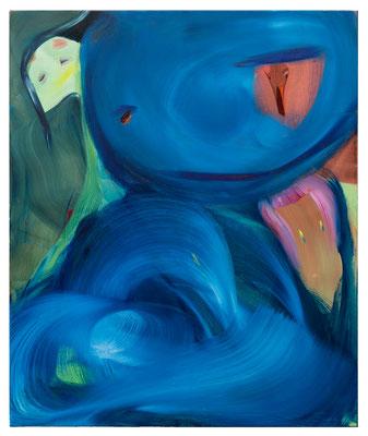 Drachennest, 2021, oil and acrylic on canvas, 120 x 100 cm / 47.24 x 39.37 inches