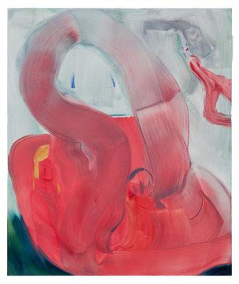 Spielgefährtinnen, 2021, oil and acrylic on canvas, 120 x 100 cm / 47.24 x 39.37 inches