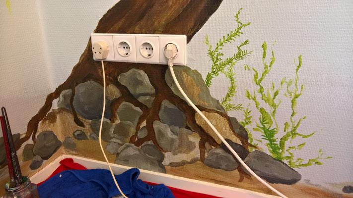 Muurschildering Atelier Floor Hertog Zwolle 2017