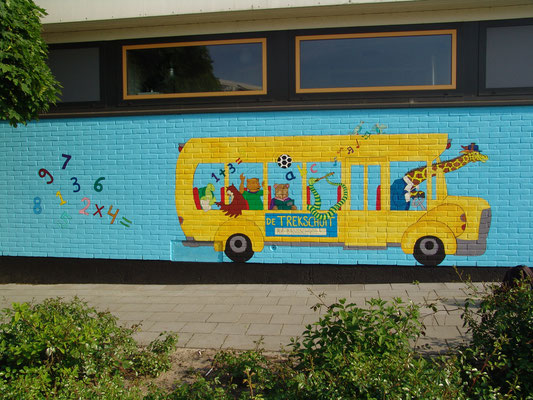 Basisschool de trekschuit ijsselmuiden 2013 *In samenwerking met Tessa Tervelde en Hartog schilderwerken