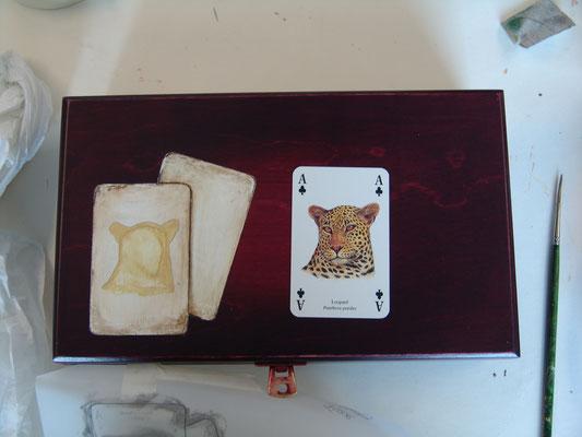Kistje met spelkaarten 2013