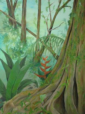 Schildering regenwoud 2013, Didam