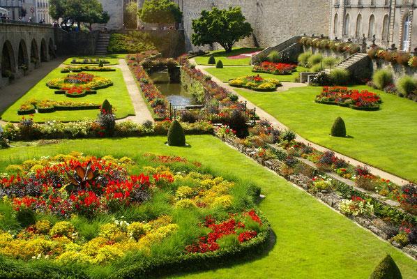 Les jardins de Vannes (Morbihan)